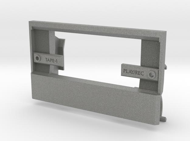 Conion C100 Custom Replacement Door (ver. 2) in Gray PA12