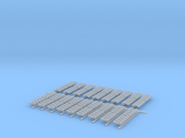 Traxxs Kettensatz   1:87 in Smooth Fine Detail Plastic