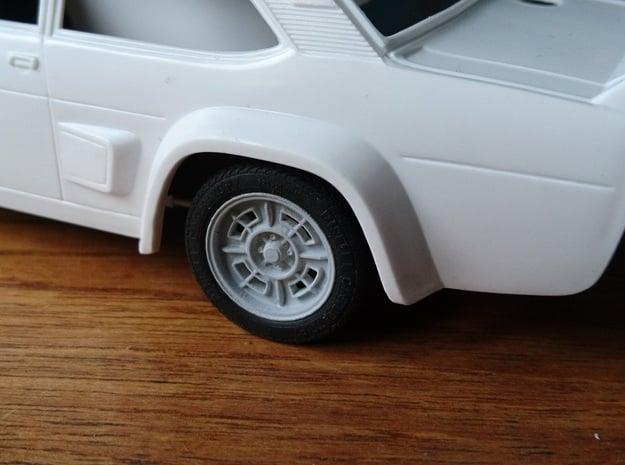 "Abarth 131 15"" Cromodora CD68 in Smoothest Fine Detail Plastic"