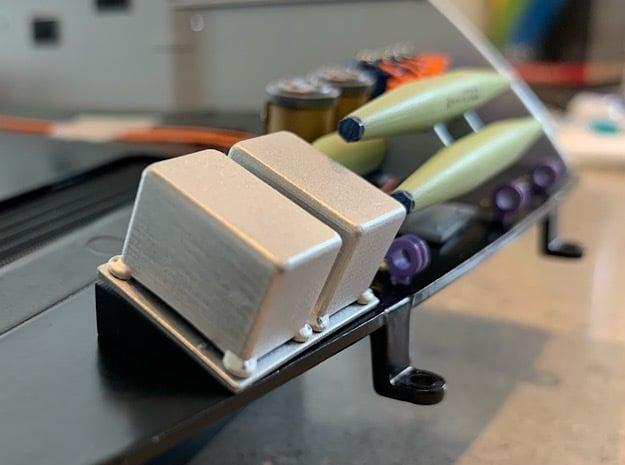 Zero Cans Pontoon for 1:8 BTTF DeLorean  in Smoothest Fine Detail Plastic