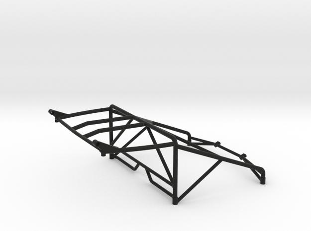 JK Roll Cage V4 w/ Light Bar Mount in Black Natural Versatile Plastic