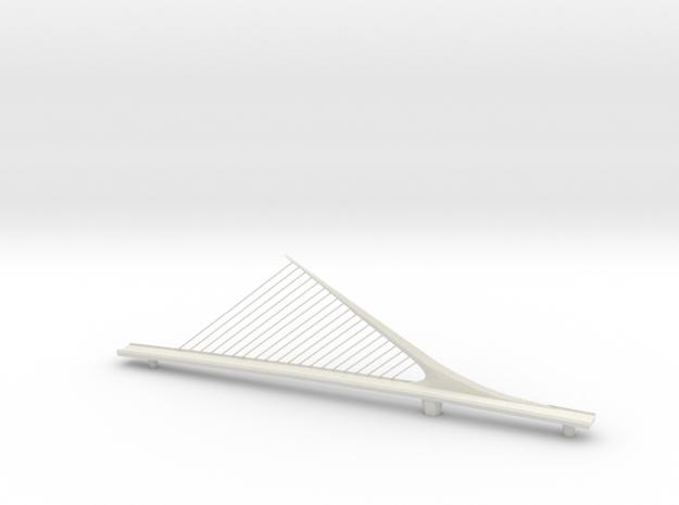 mulher bridge small in White Natural Versatile Plastic