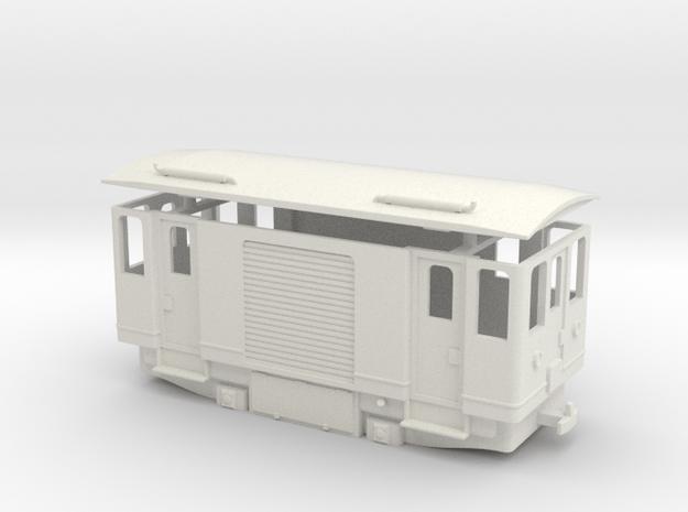 AD1c H0e / 009 diesel cargo railcar in White Natural Versatile Plastic