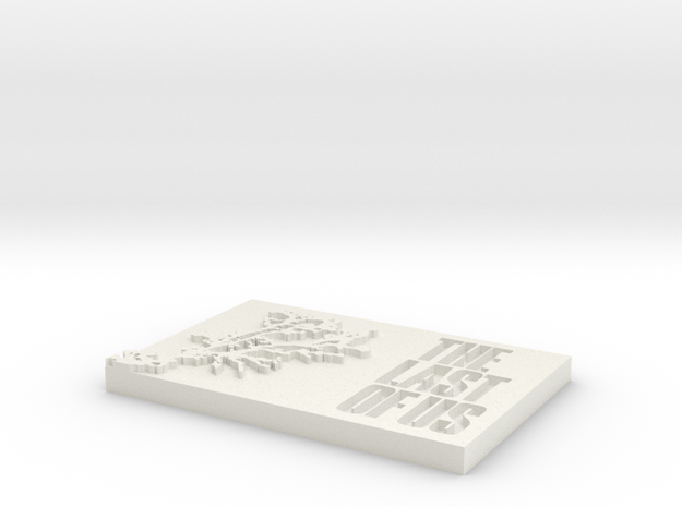 Cordiceps - The Last Of Us in White Natural Versatile Plastic