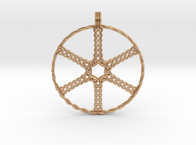 Wheel in Natural Bronze