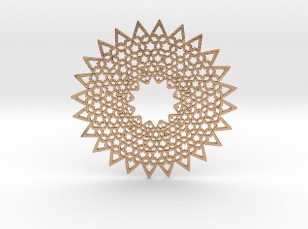 Sol Medallion in Natural Bronze