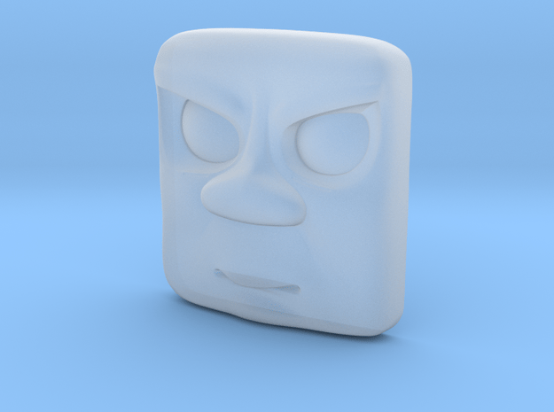 Splodge Mad Face - OO in Smooth Fine Detail Plastic