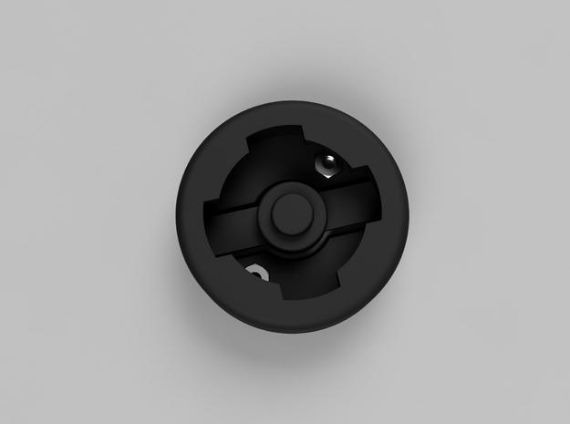 Adapter from Lezyne X-lock insert to Velochampion in Black Natural Versatile Plastic