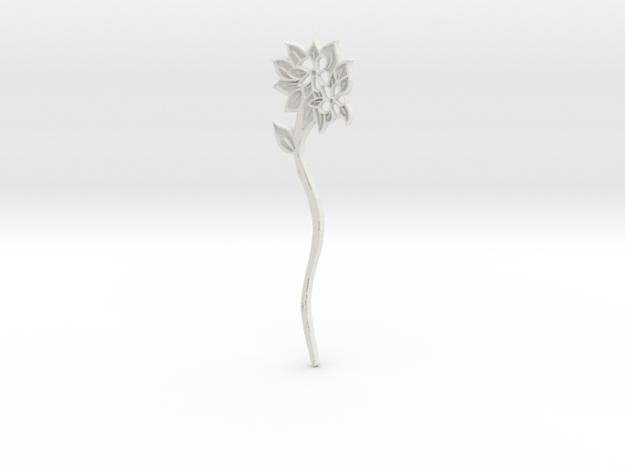 Everspring Hairstick in White Natural Versatile Plastic