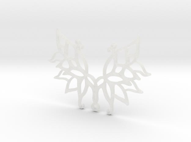 :Wings N Things: Pendant in Smooth Fine Detail Plastic