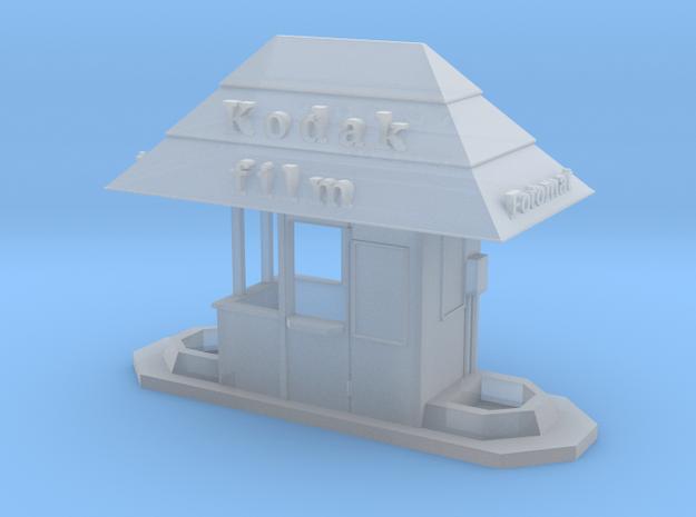 HO scale Fotomat kiosk in Smooth Fine Detail Plastic