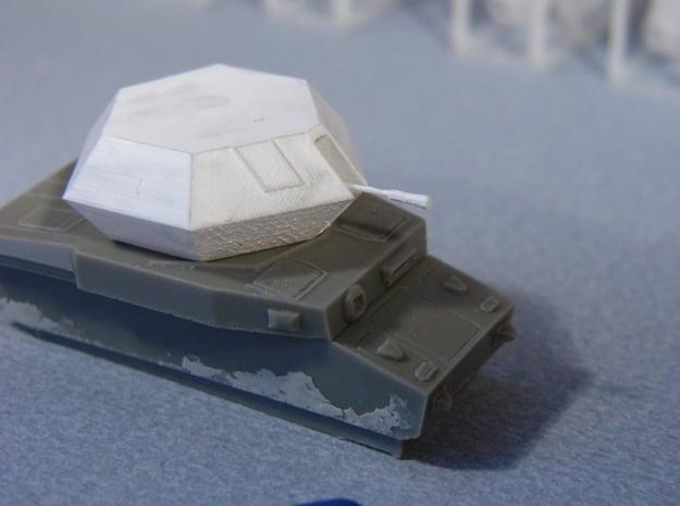 Turm für Pz.Kfw. IV Ostwind - 1:120 TT in Smooth Fine Detail Plastic