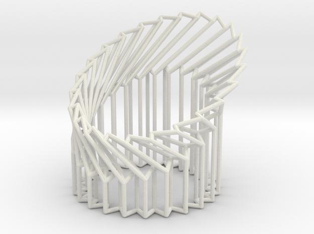 Wire Cylinder Zig-Zag with Cut Diagonal Shift