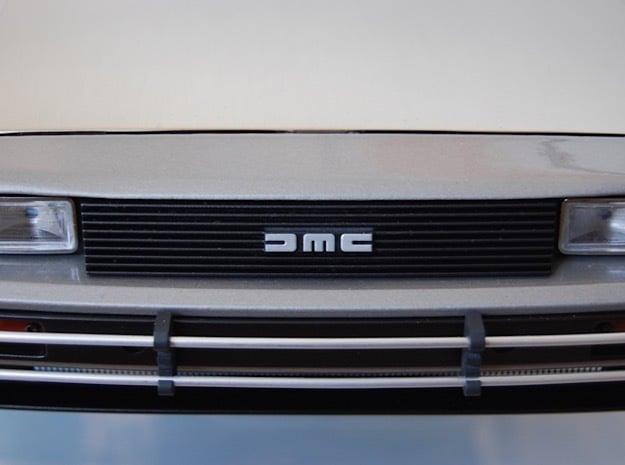 1:8 BTTF DeLorean Front Grille in Smoothest Fine Detail Plastic