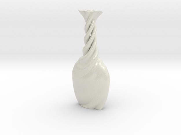 Vase Hlx1111 in Glossy Full Color Sandstone