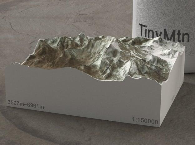 Aconcagua, Argentina, 1:150000 Explorer in Full Color Sandstone