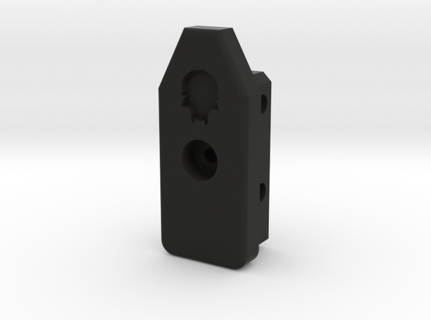 Deranged HPA Tombstone Ver 1 in Black Natural Versatile Plastic