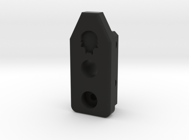 Deranged HPA Tombstone Ver 2 in Black Natural Versatile Plastic