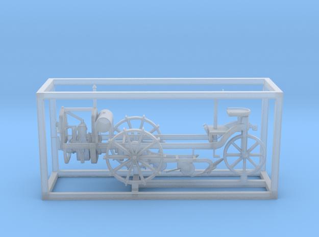 Motorpflug - 1:100 in Smooth Fine Detail Plastic