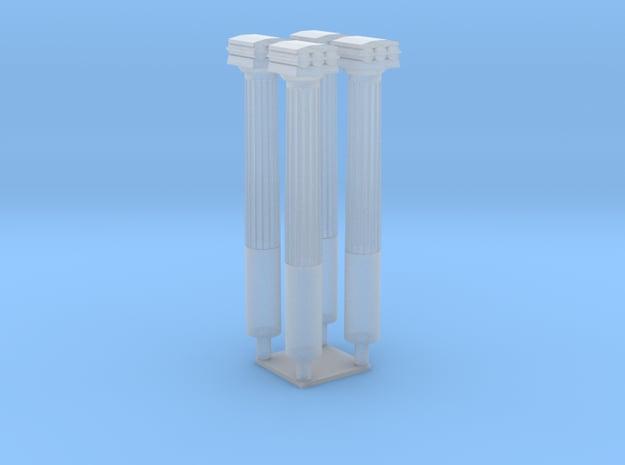 HO - Poteaux métalliques Pont Perreire-Levallois in Smooth Fine Detail Plastic