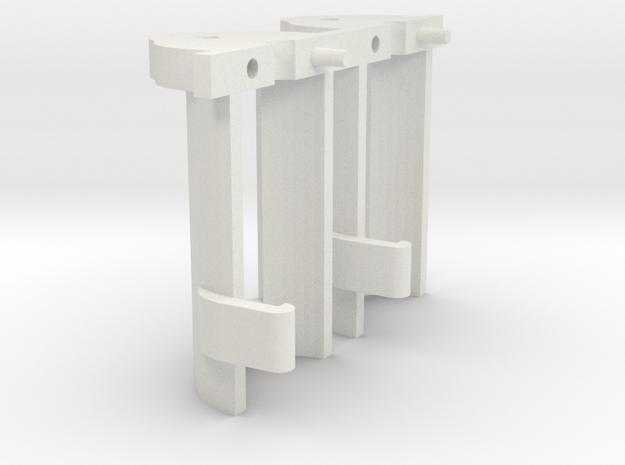 HOe Egger-bahn frame support Tramfabriek motor V3 in White Natural Versatile Plastic