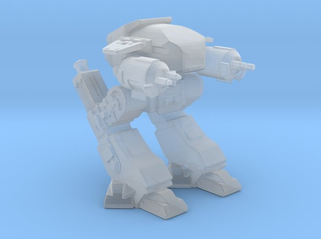 ED209 Robocop mech in Smooth Fine Detail Plastic