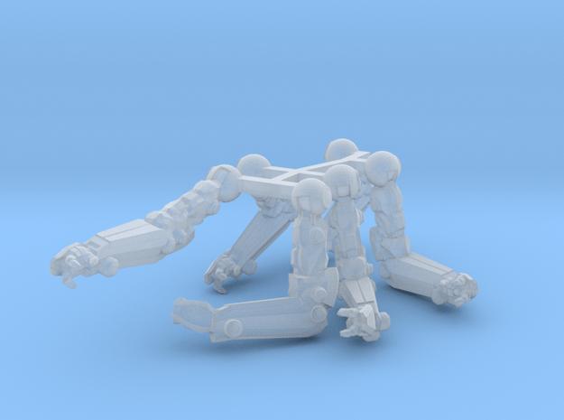 rad-MkI-armset in Smoothest Fine Detail Plastic