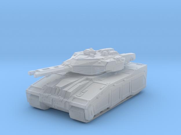 Warhound Battle tank/w railgun in Smooth Fine Detail Plastic