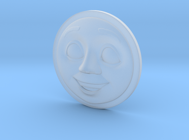 Thomas Face V4 (Spong) OO in Smooth Fine Detail Plastic: d00