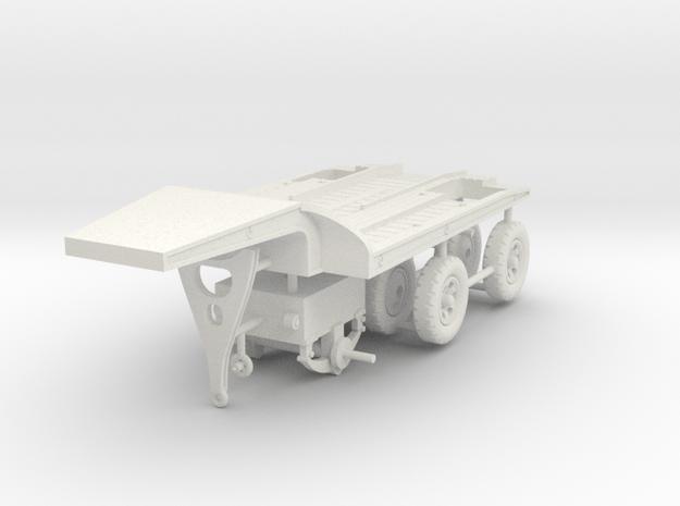 1/72 Fruehauf 8 tons trailer CPT-8 in White Natural Versatile Plastic