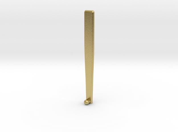 ham key lock 2.0 in Natural Brass