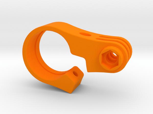 GoPro TT Handlebar Mount - 22.2mm in Orange Processed Versatile Plastic