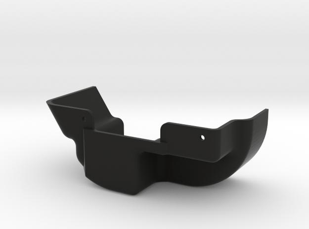 D110 Rear Inner Fender Left in Black Natural Versatile Plastic