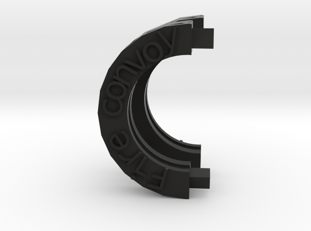 Fire convoy wheel replacement in Black Natural Versatile Plastic