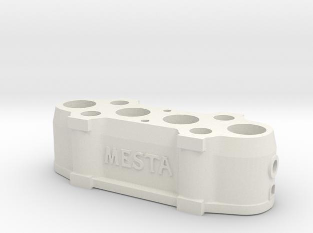 Mesta Stationary Crosshead for 50 Kiloton Forge  in White Natural Versatile Plastic: 1:87 - HO
