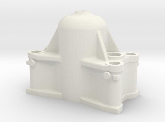 Bethlehem Steel Cast Forging Press Upper Head in White Natural Versatile Plastic: 1:87 - HO