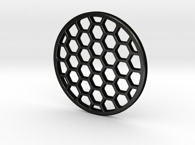 Honeycomb KillFlash 45mm Diameter 3mmHeight in Matte Black Steel