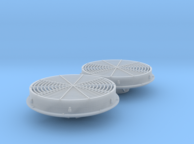 Mixed Low & Standard Dynamic Fans 1/48 in Smoothest Fine Detail Plastic