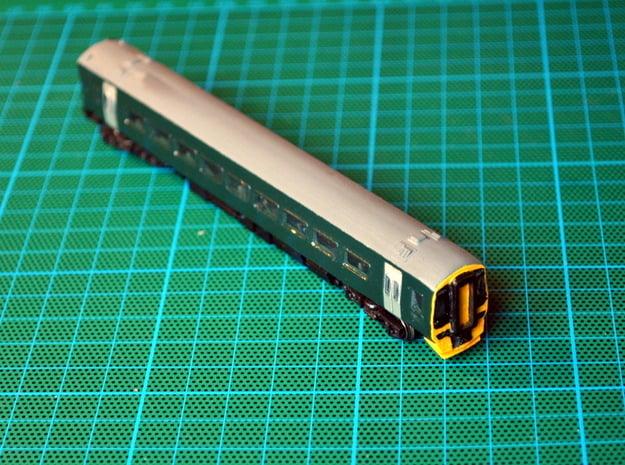 N Gauge Class 158 Version 3 in Smooth Fine Detail Plastic