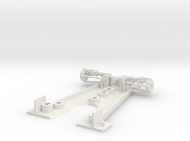 Mclaren_M23_SRC_chassis in White Natural Versatile Plastic
