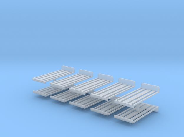 Dachrost für B1000 10erSet - 1:87 H0 in Smooth Fine Detail Plastic
