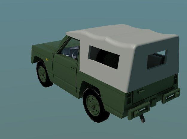 Nissa-Patrol-MC-4-H0-proto-01 in Smooth Fine Detail Plastic