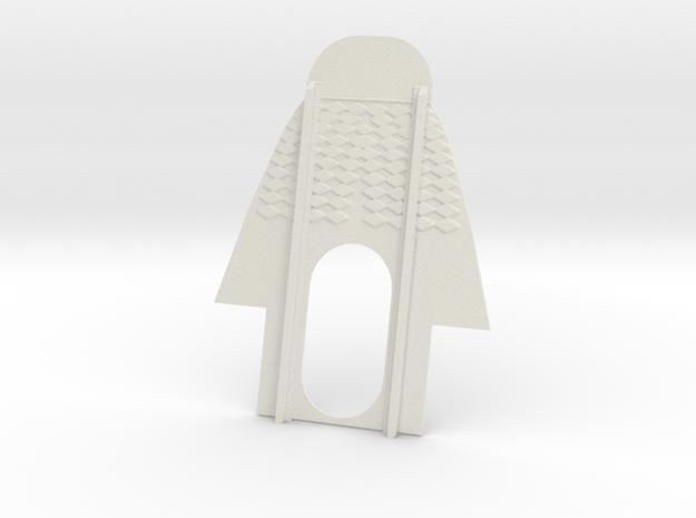 A4 CELLULE CARF (B) in White Natural Versatile Plastic
