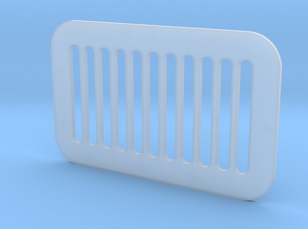 1.7 GRILLE CARRE ECUREUIL in Smooth Fine Detail Plastic