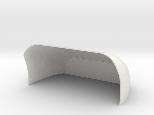 1.4 EC120 CASQUETTE  in White Natural Versatile Plastic