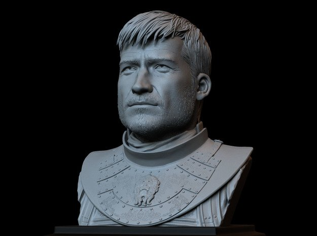 Jaime Lannister from Game of Thrones in White Natural Versatile Plastic