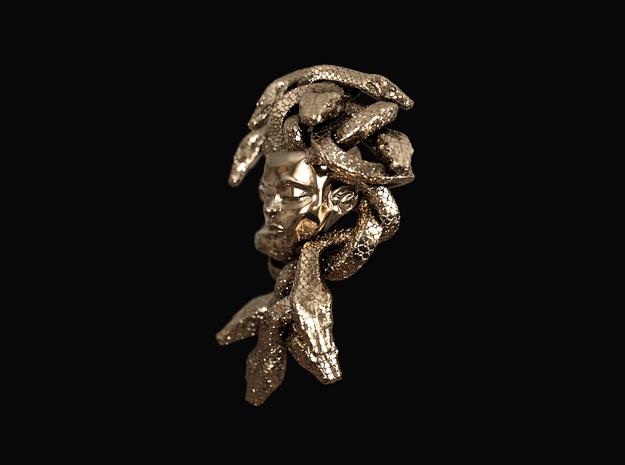 Medusa Amulet in 14k Rose Gold