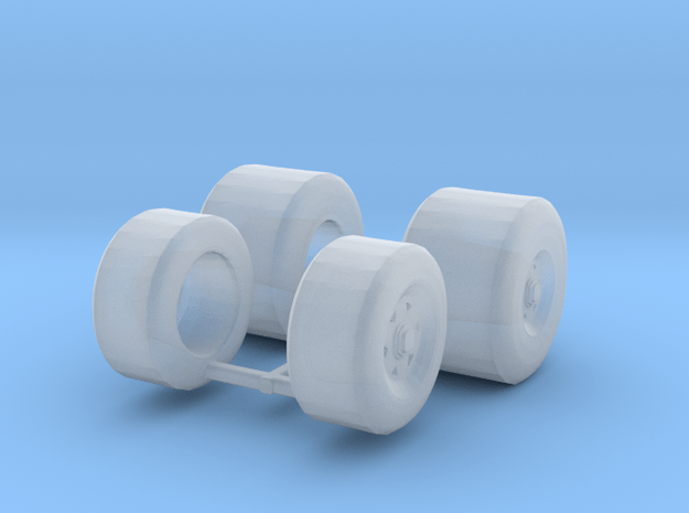 Lola T800 1:43 tires in Smooth Fine Detail Plastic