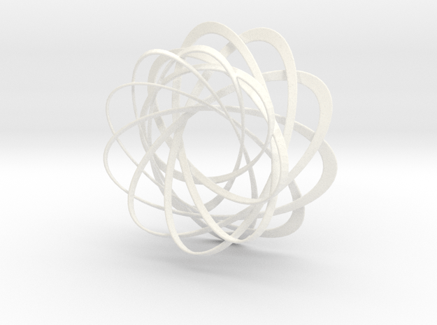 Mobius strips, intertwined