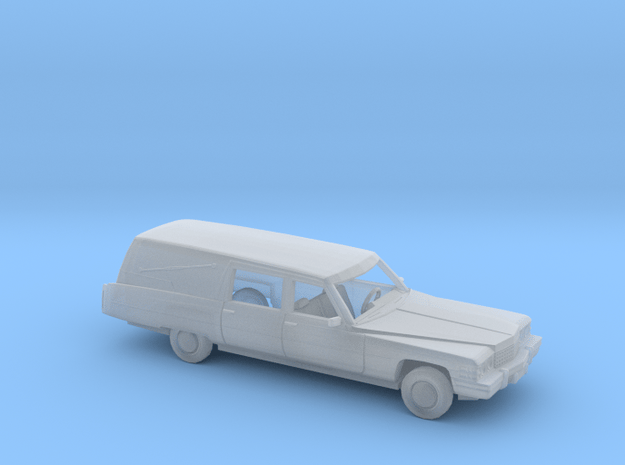 1/160 1974 Cadillac Hearse in Smooth Fine Detail Plastic